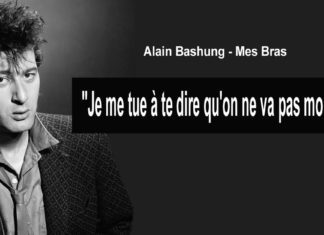 alain bashung citation