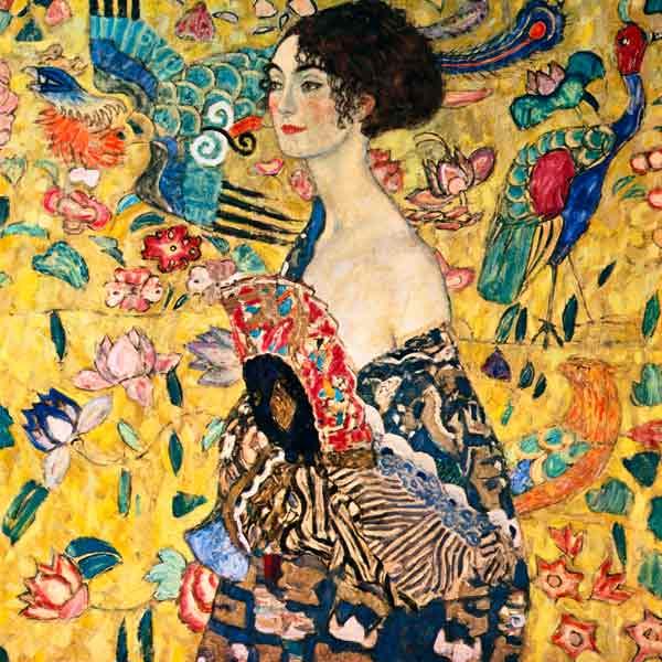 Portrait de Gustav Klimt