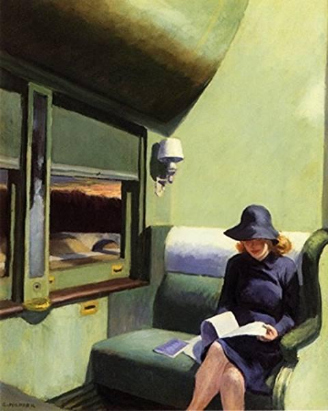 Edward Hopper représente la solitude