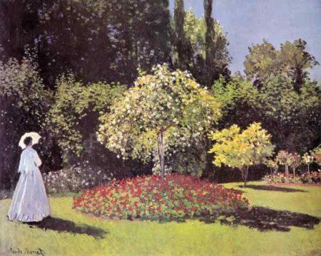 Paysage de Claude Monet