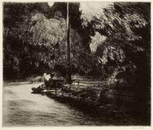 La solitude dans un parc
