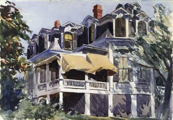 Maison à l'aquarelle