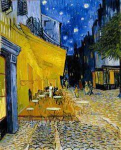 Vincent Van Gogh - Terrasse du café le soir