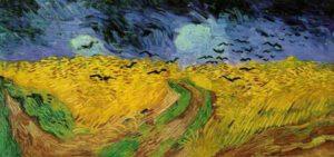 Vincent Van Gogh - le champ de blé aux corbeaux