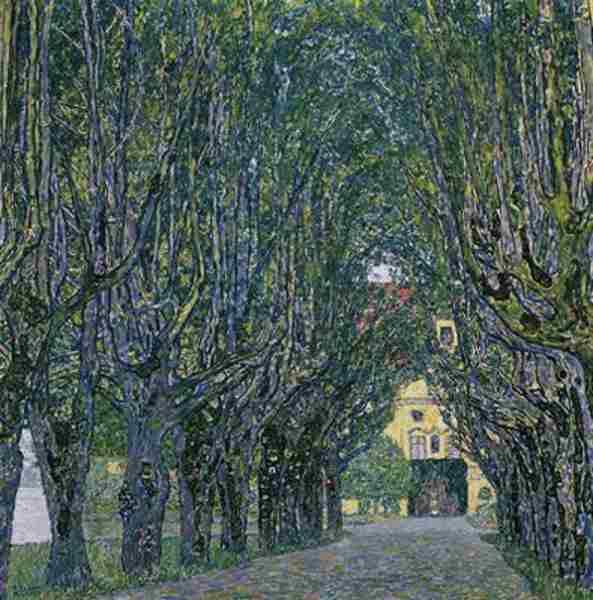 Allée Schloss Kammer de Gustave Klimt