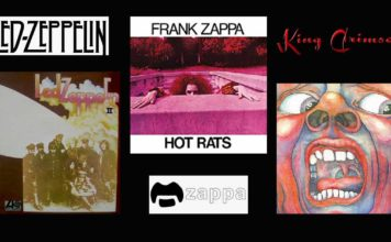 Led Zeppelin - Franc Zappa et King Crimson