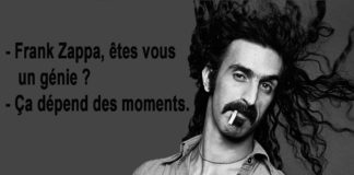 Frank Zappa - Citation