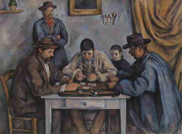 Cezanne - Les Joueurs de cartes