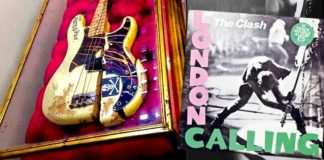 Basse Paul Simonon The Clash