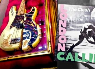 Basse Paul Simonon The Clash