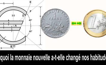 monnaie euros francs