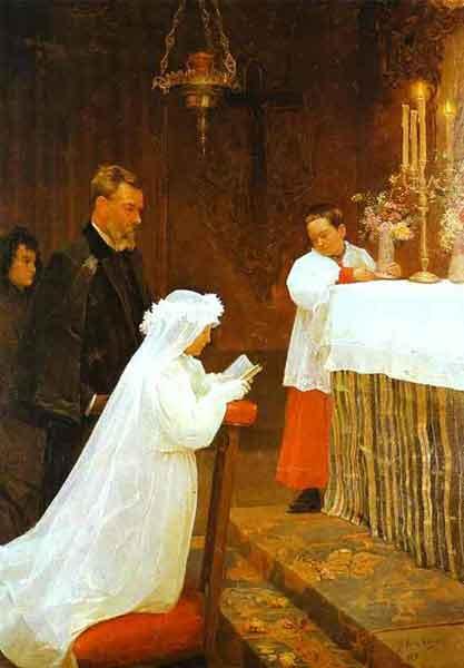 Picasso - La première communion