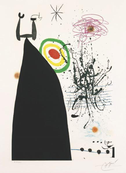 Le chef d'orchestre, rêves de Joan Miró