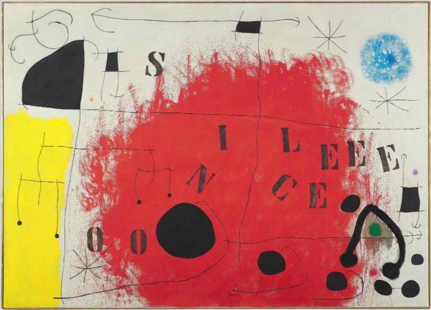 Silence Joan Miró