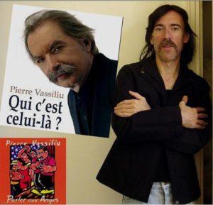 Pierre VASSILIU et son interviewer Daniel LESUEUR. Grosses moustache en commun !