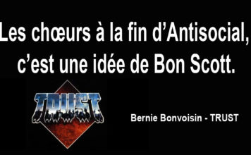 Bernie bonvoisin - Trust