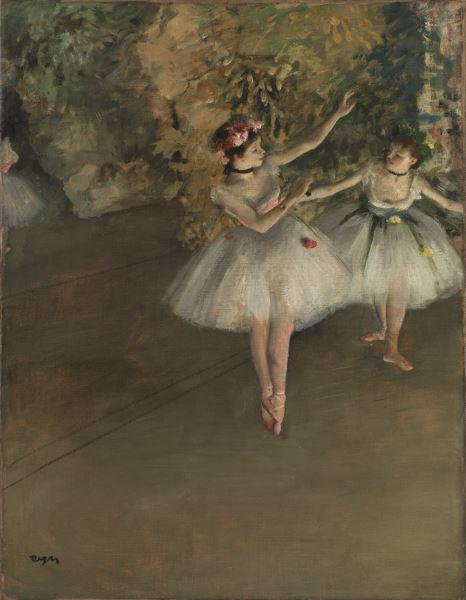 Deux danseuses d'Edgar Degas