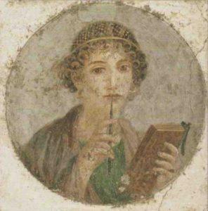 Musée Archéologique de Naples Sapho