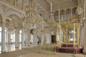 L'Ermitage -Salle du Pavillon du musée de l'Ermitage.