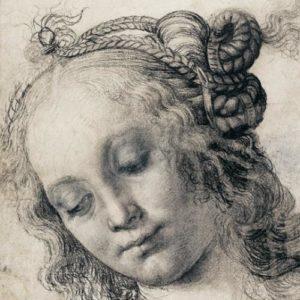 Léonard de Vinci Tête de Femme