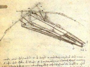 Léonard de Vinci Machine volante
