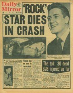 17 avril 1960 Eddie COCHRAN
