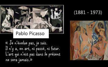 Picasso cinq tableaux