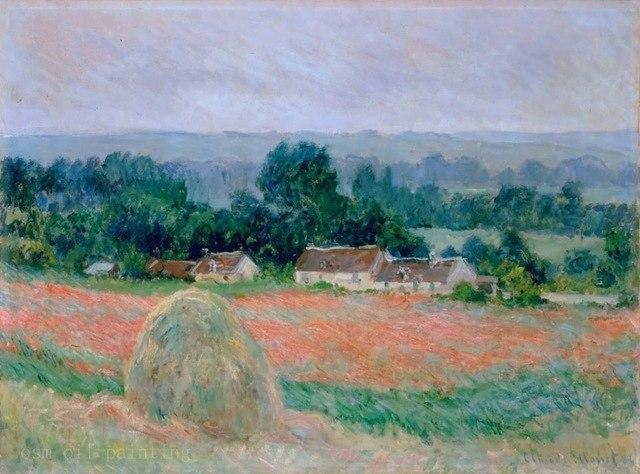 Les meules de foin de Monet