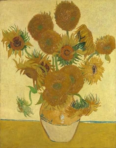 Les Tournesols, le soleil de Van Gogh