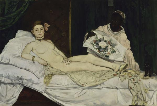 Olympia par Edouard Manet