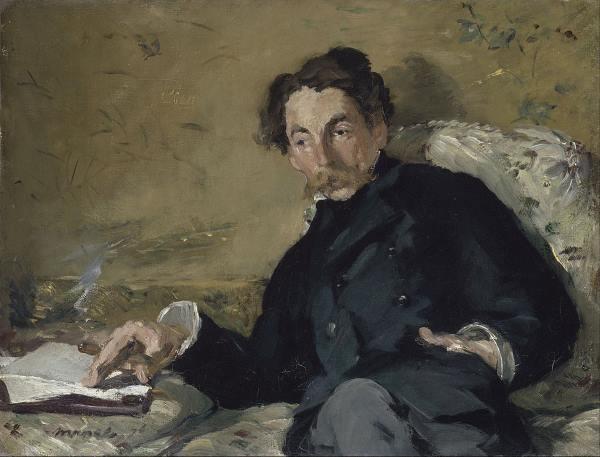 Portrait de Stéphane Mallarmé