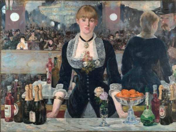 réalisme et nature morte par Manet