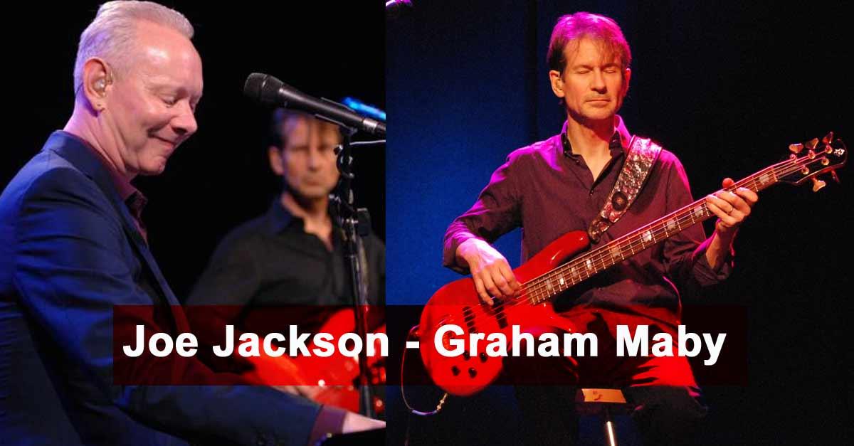 Joe Jackson et Graham Maby