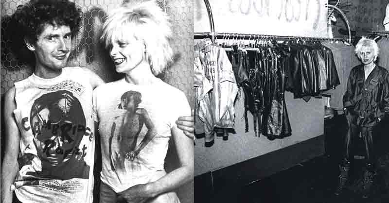 Malcom MacLaren et vivienne Westwood