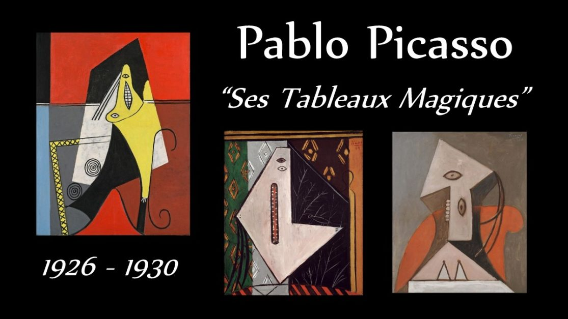 Picasso, ses tableaux magiques