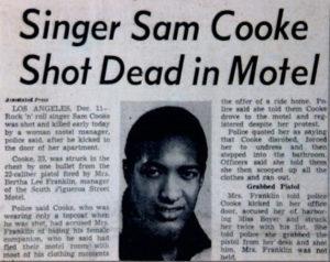 Mort de Sam Cooke