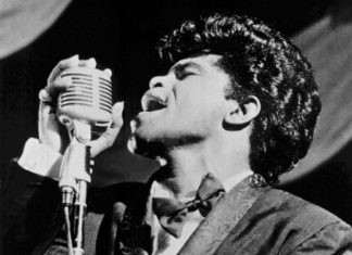 James Brown in the beginning