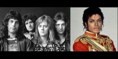 Queen et Mickael Jackson