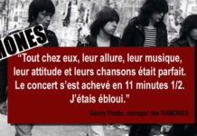 les ramones citation danny fields