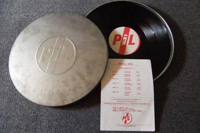 PIL METAL BOX Public image LTD - John lydon