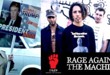 rage against the machine sleep now in thhe fire