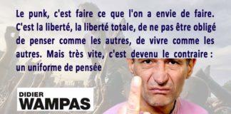 didier wampas - citation - les wampas