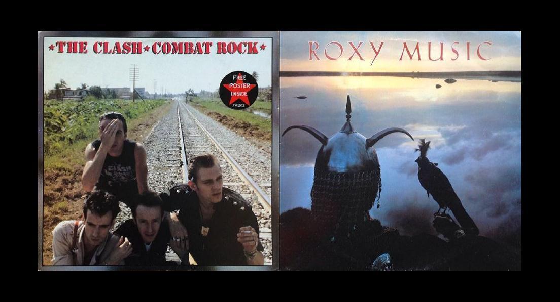 Joe strummer Pop and Rock around 1982 the clash combat rock