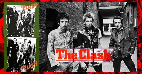 The Clash 1er album 1977