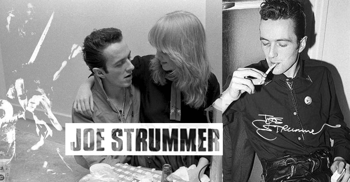 joe strummer The Clash et sa girlfriend gaby