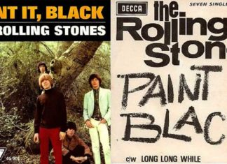 the rolling stones-paint it black