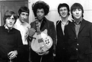 Jimi et les Who