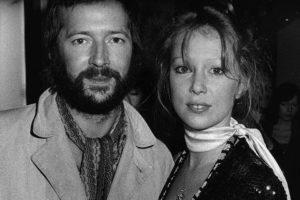 Clapton & Pattie Boyd