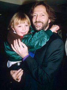 Eric Clapton et son fils Conor