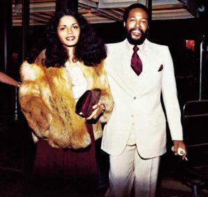 Marvin Gaye & Janis Hunter